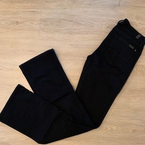 7 For All Mankind Black Bootcut Jean